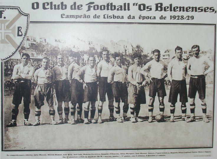 BELENENSES CAMPEÃO DE LISBOA 1928-29