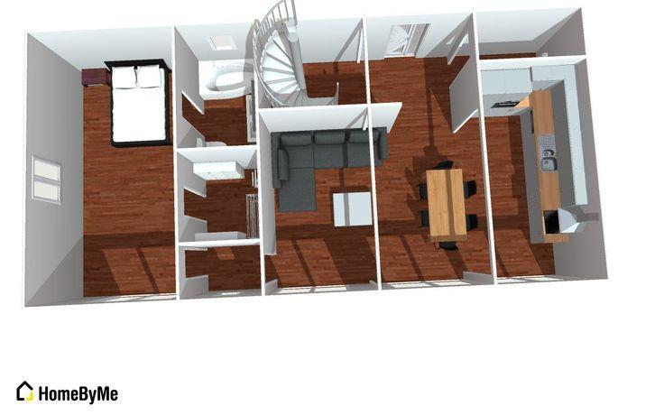 Les 25 meilleures id es concernant plan maison 120m2 sur for Maison container 31