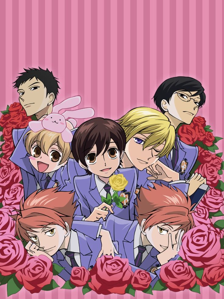 100 days anime challenge - Day 48: favourite harem/ reverse harem. Didbsomwone say *dasjes into the room* reverse *breaks 1milion dollar vase* harem *poses faboulous*. I shall never forget the lessons that OHSHC teached me*insert dramatic here*. XD No but seriously this anime is so hilarious and that's why I'm do exited for the second season. ONLY ONE MORE YEAR *feels her Feelz dying*.Everyone in this anime has something worthy to teach the ones who watch the show... so KISS KISS FALL IN…