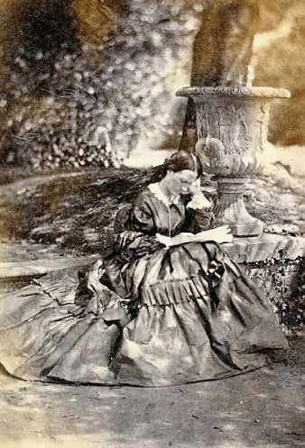 """1858, Florence Nightingale, photo not discovered until 2006. Florence Nightingale, one of nursing's most important figures, gained worldwide attention for her work as a nurse during the Crimean War. She was dubbed """"The Lady with the Lamp"""" after her habit of making rounds at night to tend to injured soldiers. Early photographs of Florence Nightingale are very rare because she was extremely reluctant to be photographed, partly for religious reasons."""