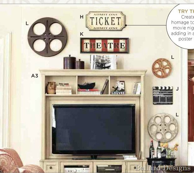 Think Darker Colors Will Work Better For Our Movie Room Sew Dang Cute Crafts Theater Decor