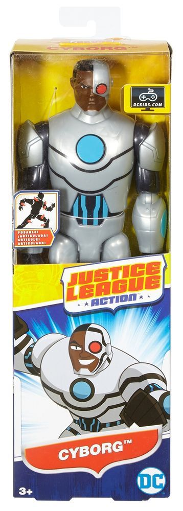 DC Comics Justice League Movie Cyborg Action Figure Superhero Box Toys Kit