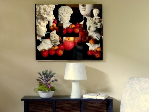 Diy art for home staging