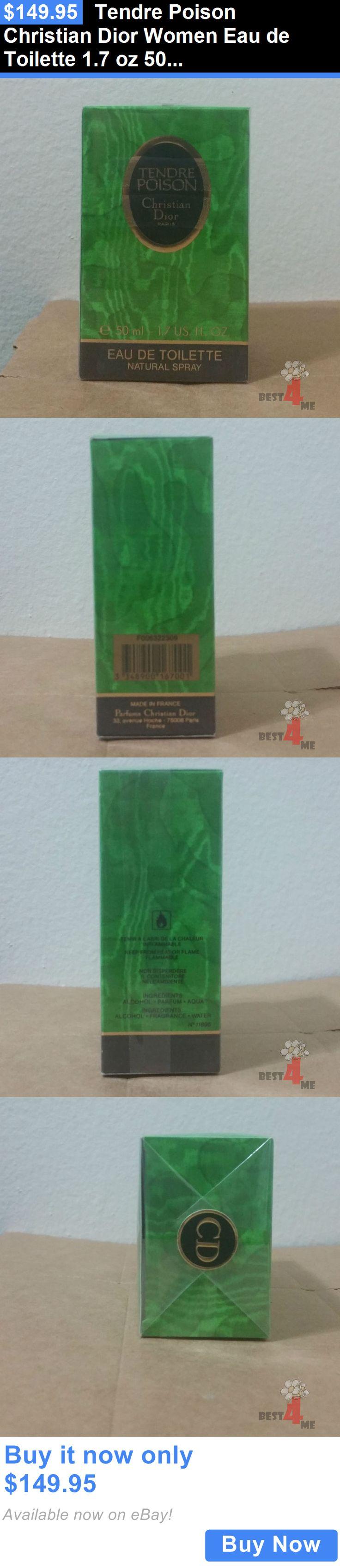 Women Fragrance: Tendre Poison Christian Dior Women Eau De Toilette 1.7 Oz 50 Ml Spray Rare! BUY IT NOW ONLY: $149.95