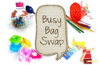 Lindy's Homeschool: Busy Bag Swap!