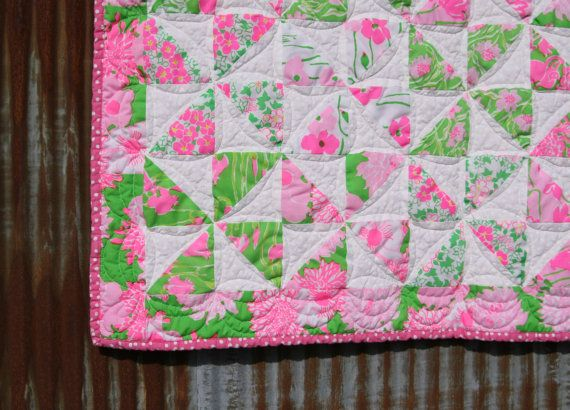 39 best Lilly Quilts ¸.•Â´*¨`*•âœ¿ images on Pinterest | Bath ... : lilly pulitzer quilts - Adamdwight.com
