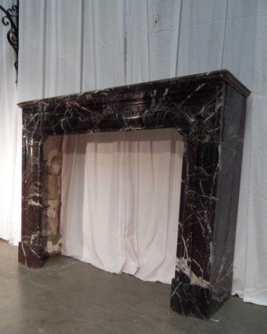 fireplace louis xiv boudin n 41 - Cheminées - Cheminées et décorations - Nord Antique