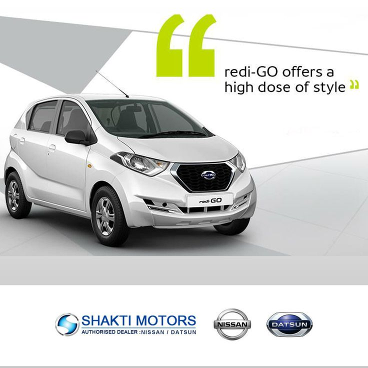 Redi-go Offers a high dose of #Style. #Datsun #RediGO ShaktiNissan : https://goo.gl/GZFXLv #ShowRoom in #NaviMumbai #MyCar #Drive #DatsunCar