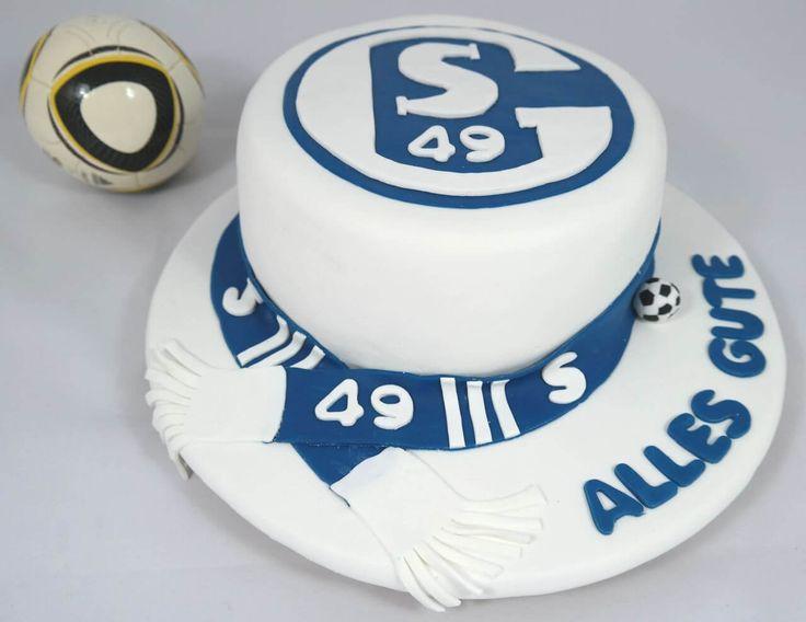Schalke Torte Tortenkreation SHS