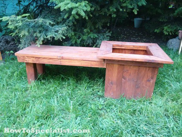 Amazing Diy Planter Bench Plans Diy Planters Planter Bench Caraccident5 Cool Chair Designs And Ideas Caraccident5Info