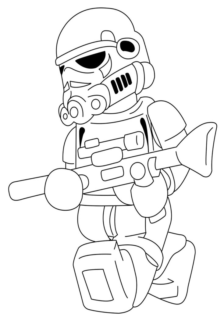 lego chewbacca coloring pages - photo#18