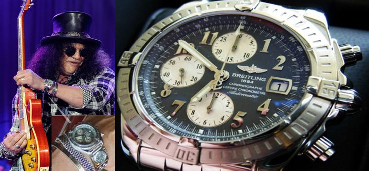 1000 images about watches celebrities on pinterest brad pitt tag heuer and monaco for Celebrity wearing breitling