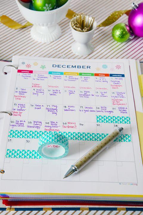 IHeart Organizing: Holiday Planning Binder