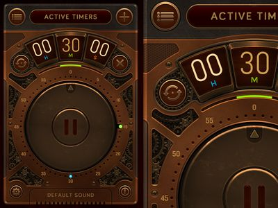 Steampunk Timer #steampunk