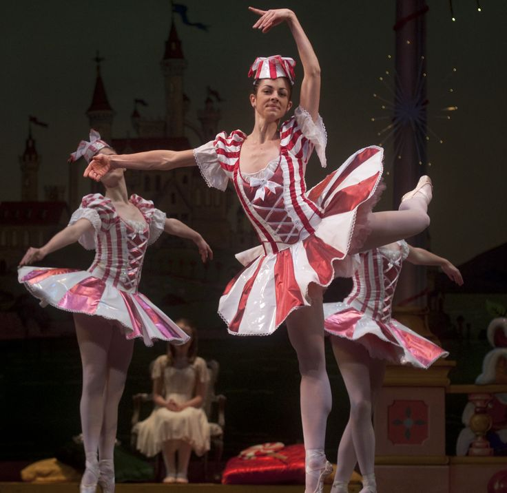 The Nutcracker Ballet-Russian Candy Cane Performers