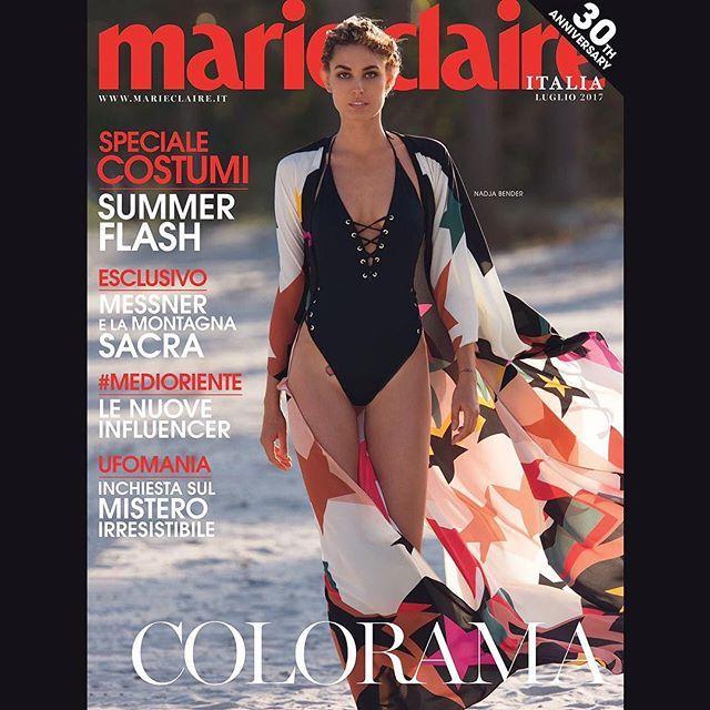 Anticipazione! #NadjaBender fotografata da #HansFeurer per #MarieClaireItalia di luglio con lo styling di #IvanaSpernicelli (dal 16 maggio in edicola e da domani su tablet!) Costume: #Calzedonia Kimono: #ElieSaab   #MarieClaire30thanniversary #MCLikesTimeless #MCbeautyis #MCshooting #MCtendenze #MClikes #StayTuned #MarieClaireItaliaCover #MiamiBeach #Coverstory #Magazinecover  via MARIE CLAIRE ITALIA MAGAZINE OFFICIAL INSTAGRAM - Celebrity  Fashion  Haute Couture  Advertising  Culture…