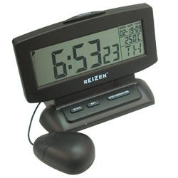 Talking Clock with Large LCD Display and Vibrator - Talking Clocks - MaxiAids.com