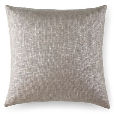 Jcpenney Decorative Pillows : Metallic Heavy Texture 20