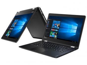 "Notebook 2 em 1 Lenovo Yoga 510 Intel Core i7 - 8GB 1TB LED 14"" Touch Screen Windows 10"
