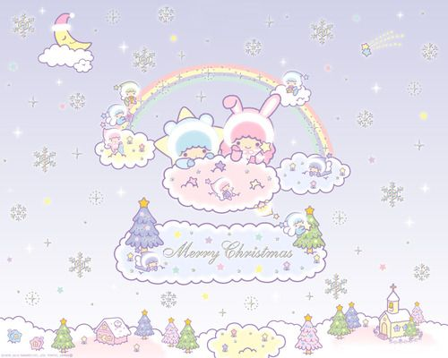 Little Twin Stars Wallpaper 2012 SanrioBB Present