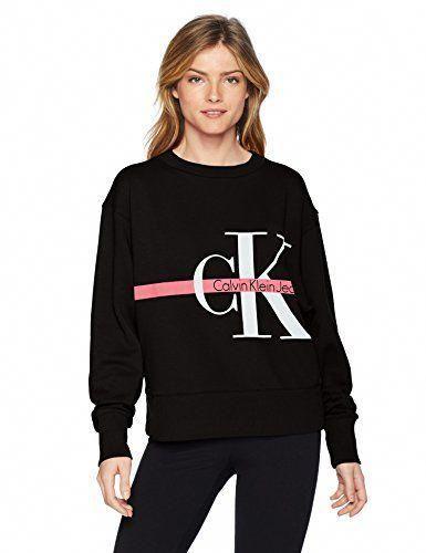 043b517f405 Chic Calvin Klein Calvin Klein  jeans Women s Long Sleeve Sweatshirt  Monogram Logo Women s Fashion Clothing online.   41.40 - 79.50   topbrandsclothing from ...