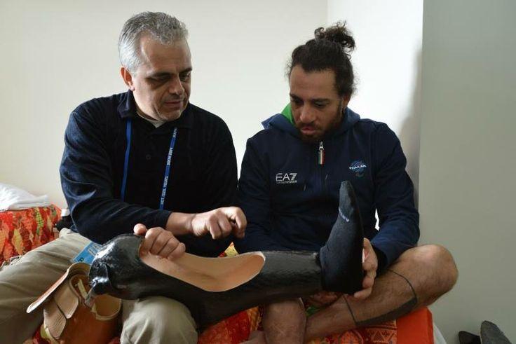 Paralimpiadi Sochi 2014 - Giuseppe Comunale ed Enrico Lanzone