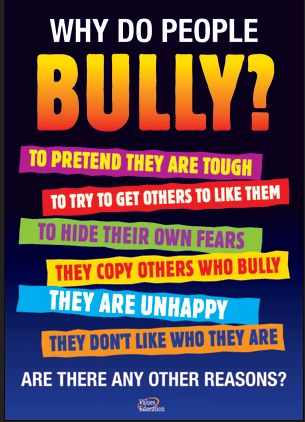 Oddly enough, applies to Adult Bully Bosses as Well... Great Posters on Bullying ~ Educational Technology and Mobile Learning #bullying #education
