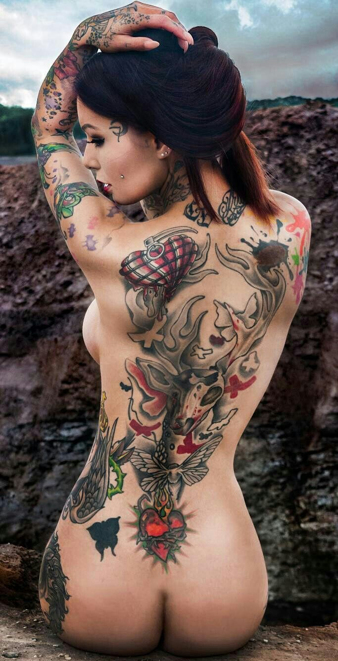 Tattoos pussy women getting