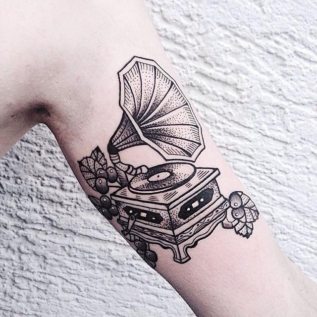 60 Tatuagens de música