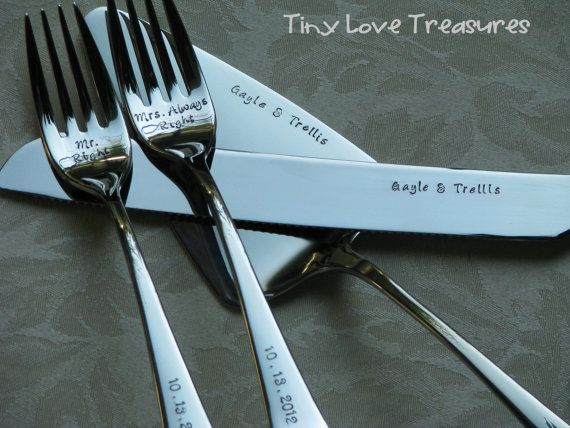 Wedding cake knife and server set hand by tinylovetreasures, $45.00