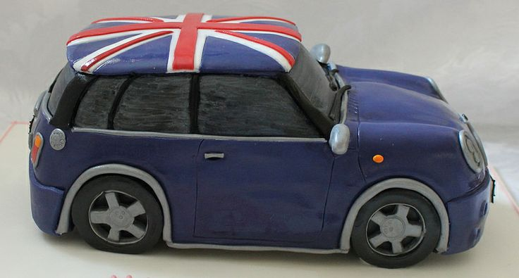 Mini Cooper birthday cake!!! :-)