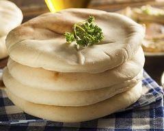 Pains pita libanais maison