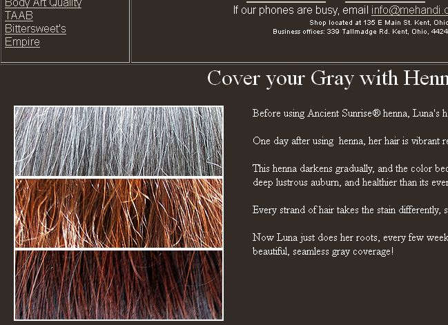 Best Henna For Gray Hair: Ancient Sunrise Henna For Gray Hair Kits