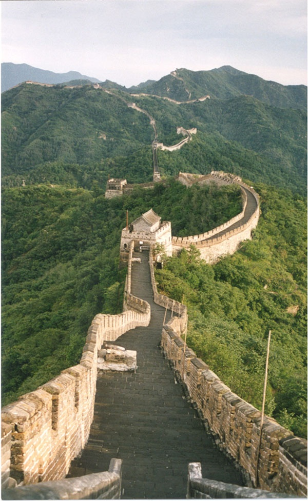 The Great Wall, celebrated Chris' 30th birthday here.  The Great Wall was neat, Beijing,China not so much!