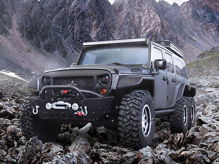China-based G. Patton creates own version of 6x6 Jeep Wrangler