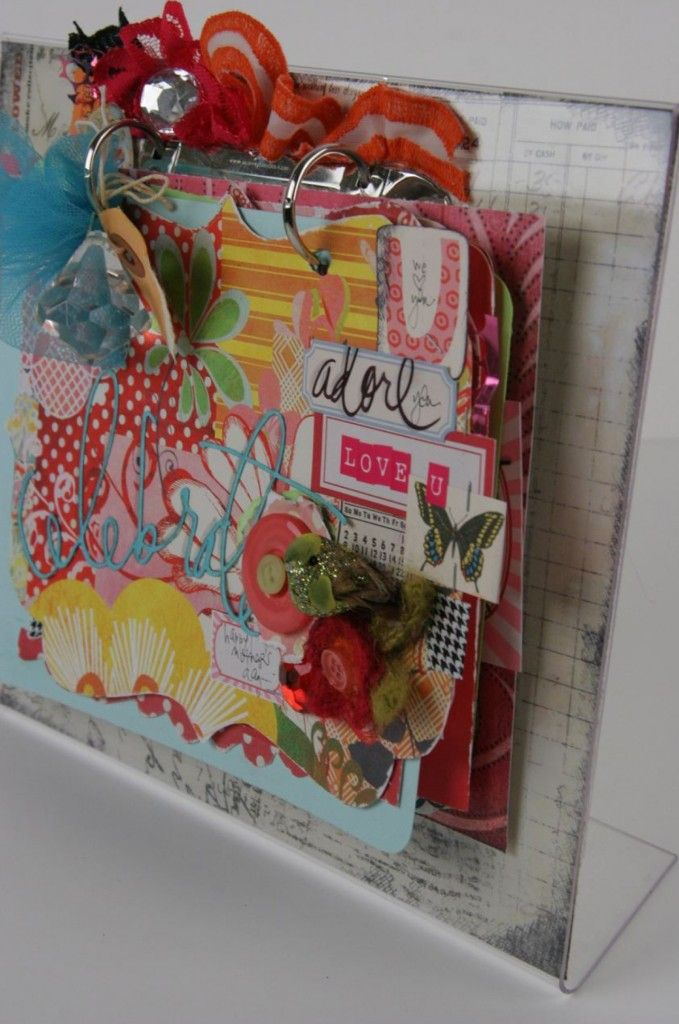 Heidi Swapp - she's innovative! Yet another top binding! Cool...