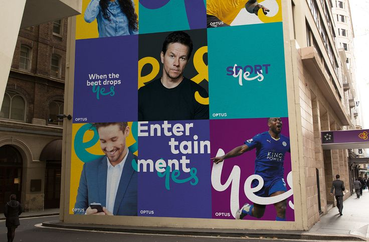 Brand New: New Logo and Identity for Optus by Re