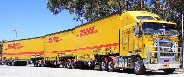 Australia - GKR Transport (DHL Road Train)   Flickr - Photo Sharing!