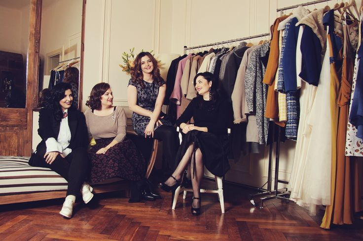 From left to right: Diana, Florina (Josephine)' Adriana, Flo (DB)