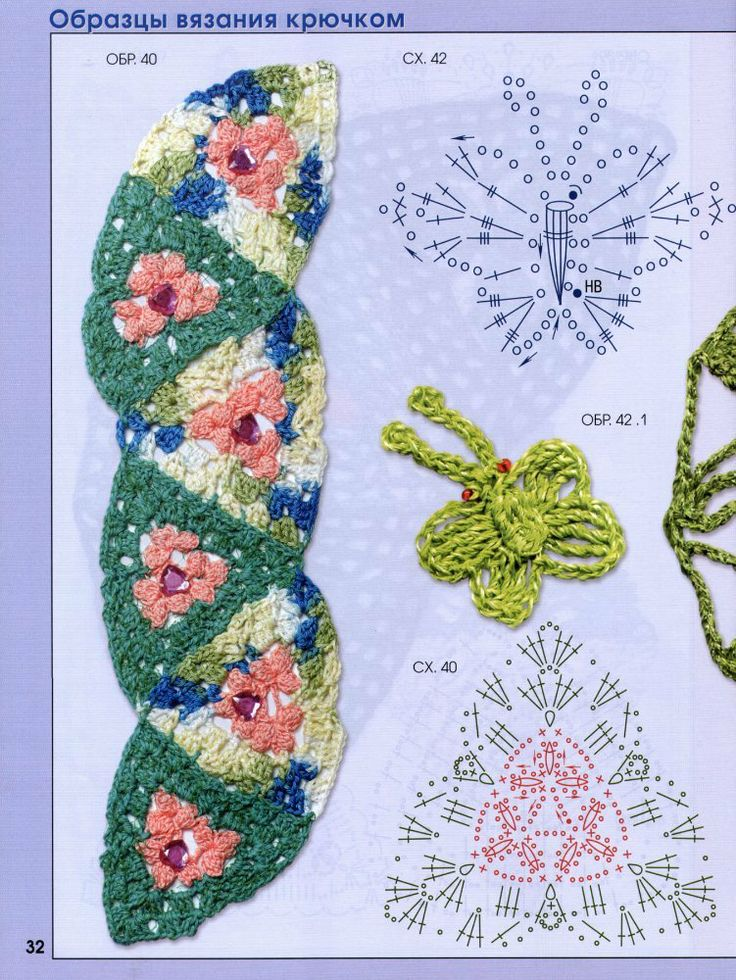 beautiful crochet motifs
