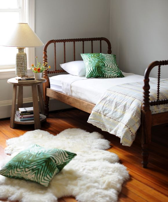 Ore Studios Interior Design - Main Like the simple Jenny Lind bed