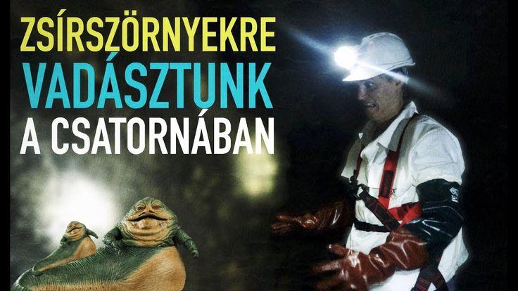 Hátsó bejárat: zsírszörnyekre vadásztunk a budapesti csatornákban
