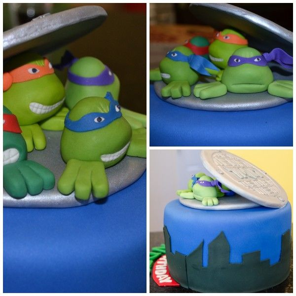 14 best Tmnt images on Pinterest Ninja turtle cakes Tmnt cake and