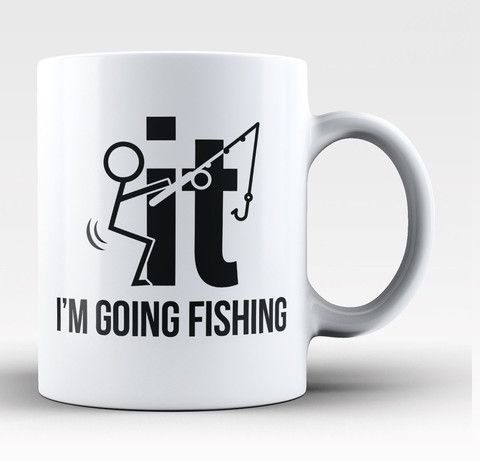 F-It I'm Going Fishing Coffee Mug