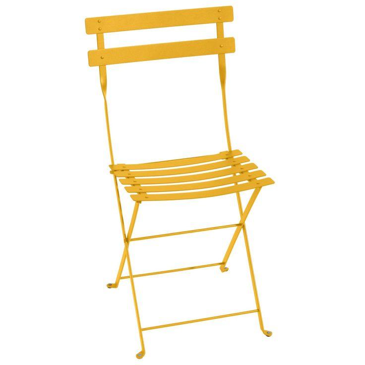 Bistro Metal stol, honey i gruppen Utemöbler / Utemöbler / Balkong hos RUM21.se (127971)