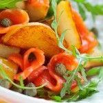 Ricetta avanzi patate arrosto e salmone - Ricette in 30 minuti
