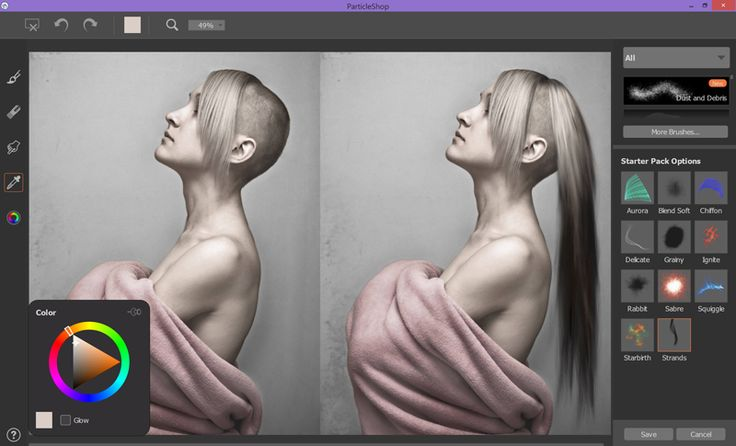 Corel debuts ParticleShop brush plug-in for Photoshop, featuring dynamic special effects.
