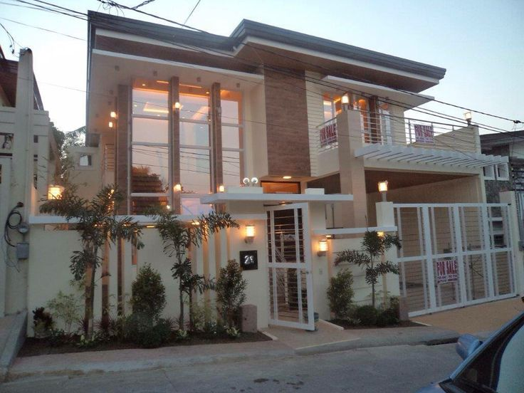 22 best dream house images on pinterest modern homes for Duplex house design in philippines
