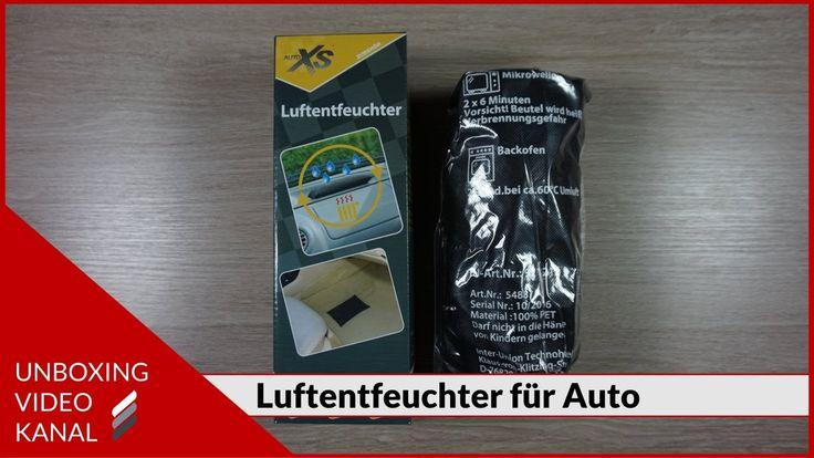 Unboxing Video über ein Luftentfeuchter für Auto #unboxingvideo #luftentfeuchter #auto