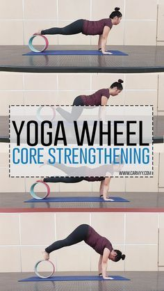 Core Strengthening with a Yoga Wheel